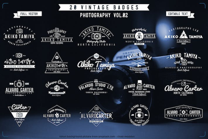 Thumbnail for Vintage Badge Photography