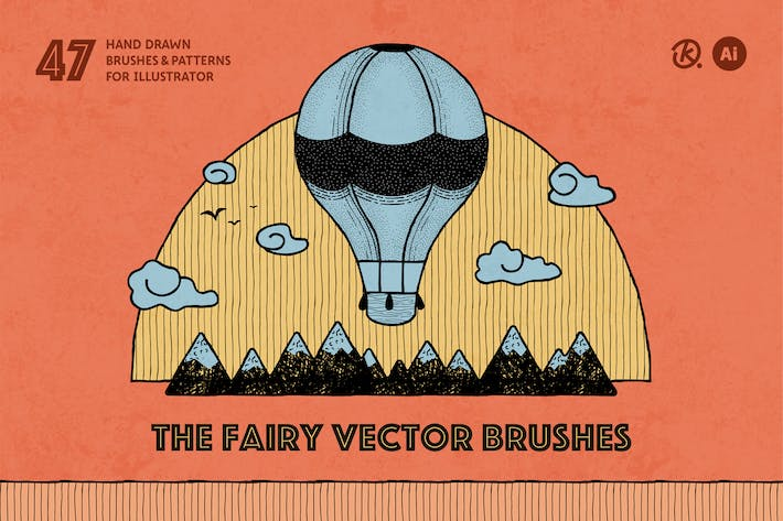 Thumbnail for The Fairy Vector Brushes