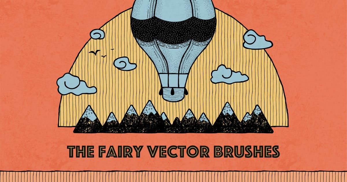 Download The Fairy Vector Brushes by Oxana-Milka