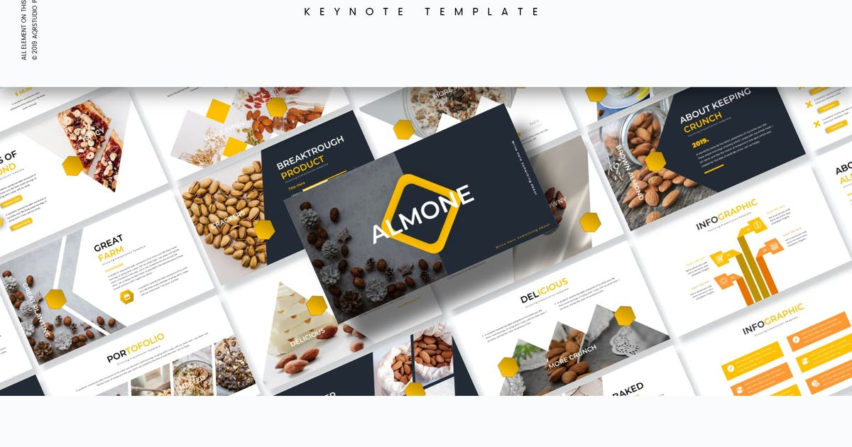Download Almone - Keynote Template by aqrstudio