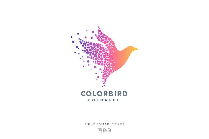 Thumbnail for Abstract Bird Colorful Logo