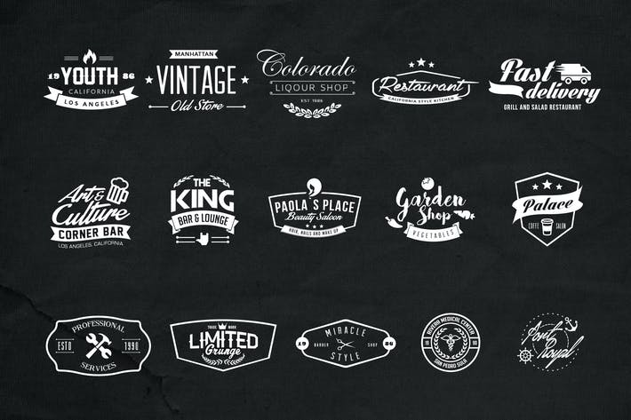 Cover Image For Multi Purpose Logos Pack1