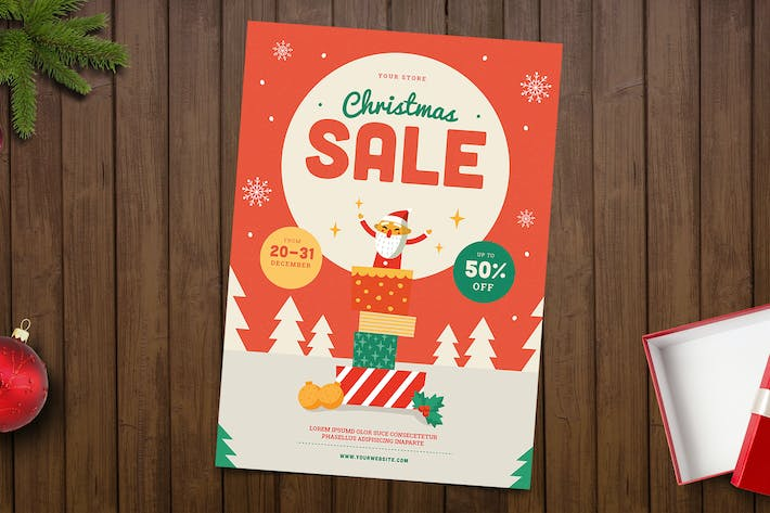 Thumbnail for Christmas Sale Flyer