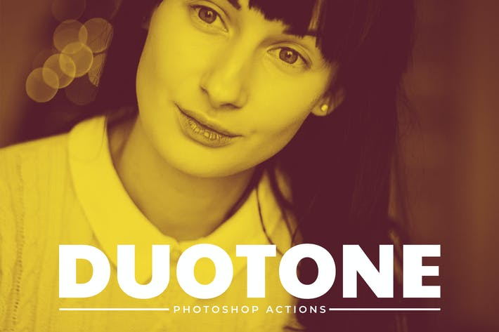 Cover Image For Duotone Pro Photoshop Actions