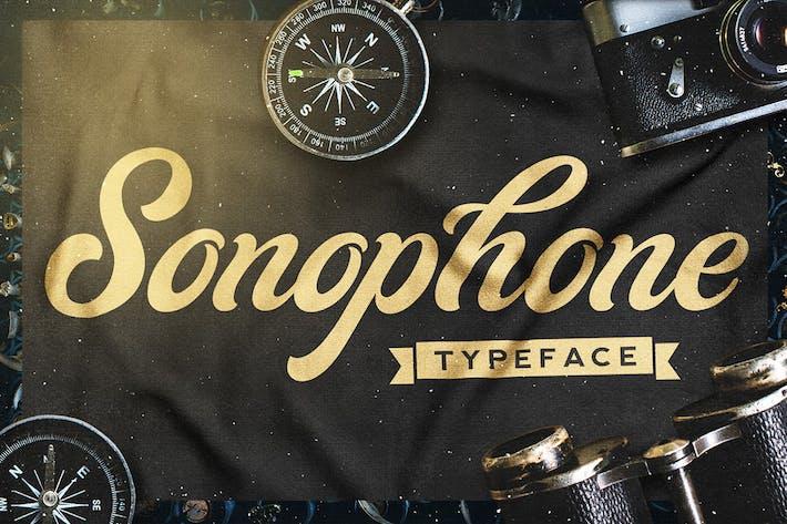 Sonófono - Tipo de letra