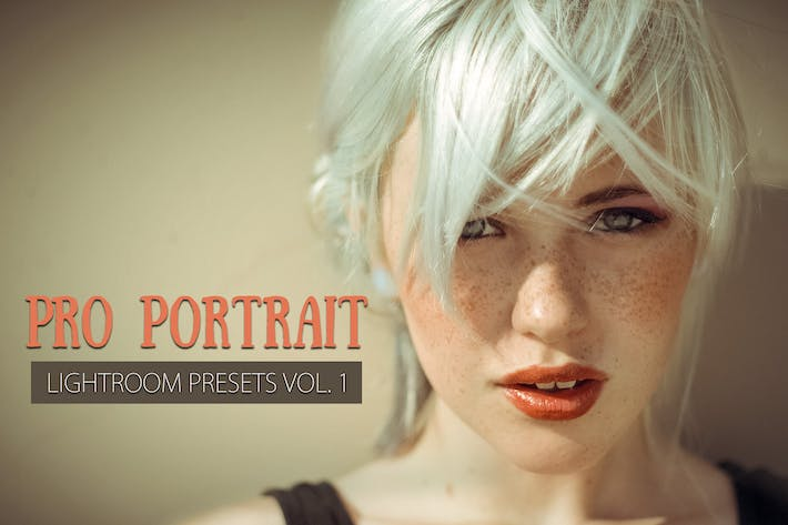 Thumbnail for 10 Portrait Lightroom Presets Ver. 1