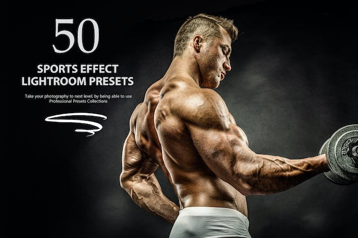 Thumbnail for 50 Sports Effect Lightroom Presets
