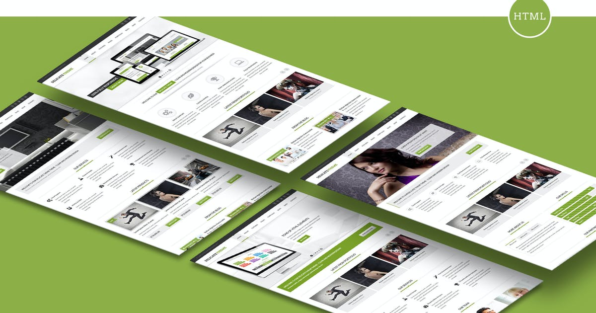 Download Delicate - Responsive Multipurpose HTML5 Template by designthemes