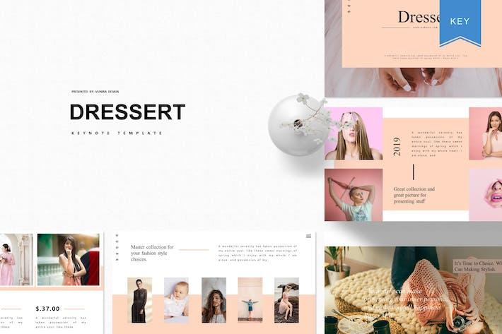 Thumbnail for Dressert  | Keynote Template