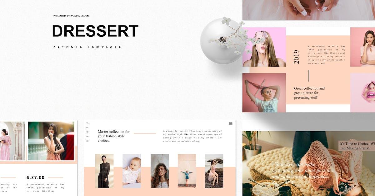 Download Dressert  | Keynote Template by Vunira