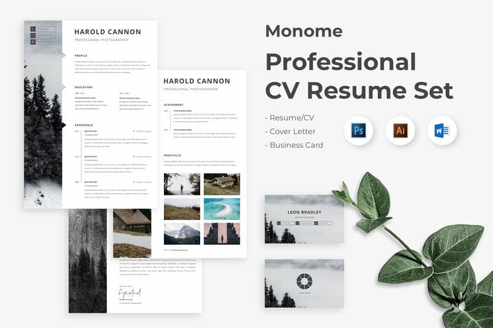 Thumbnail for CV Resume Word