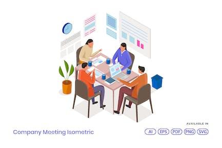 Встреча компании Изометрическая