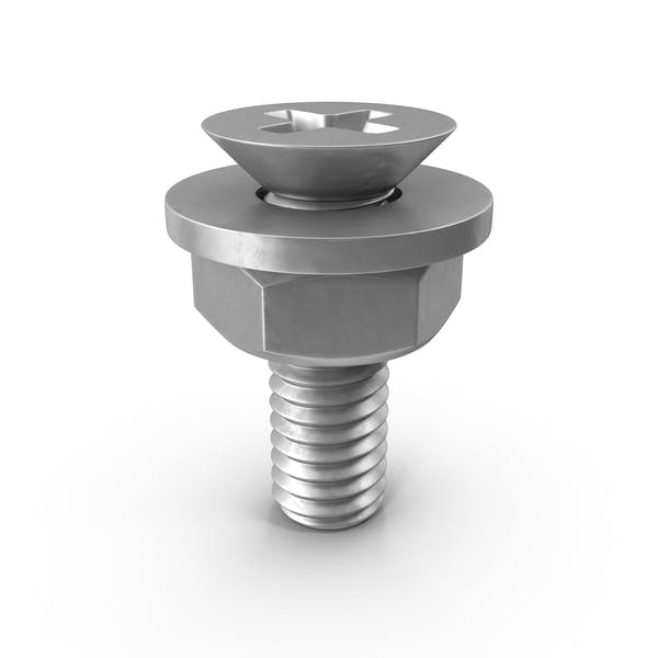 Thumbnail for Bolt with Washer and Nut