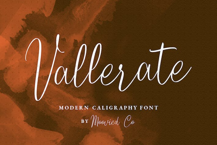 Thumbnail for Vallerate Font