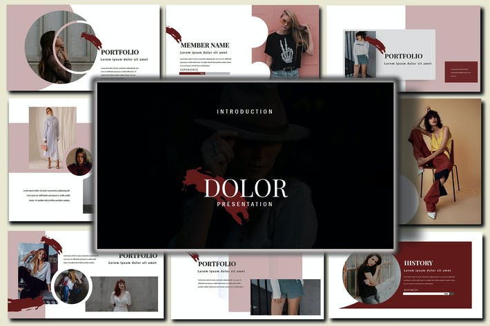 Thumbnail for Dolor Stylish PowerPoint