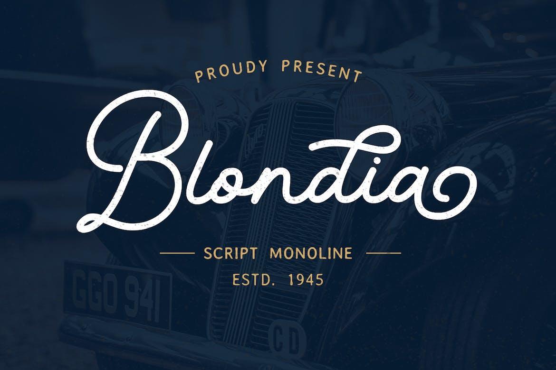 Blondia