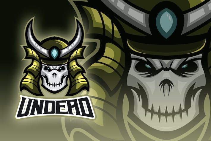 Thumbnail for Evil Ronin Rises Esport Logo
