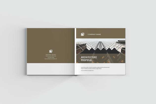 Square Architecture Brochure