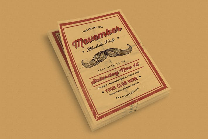 Thumbnail for Movember Flyer