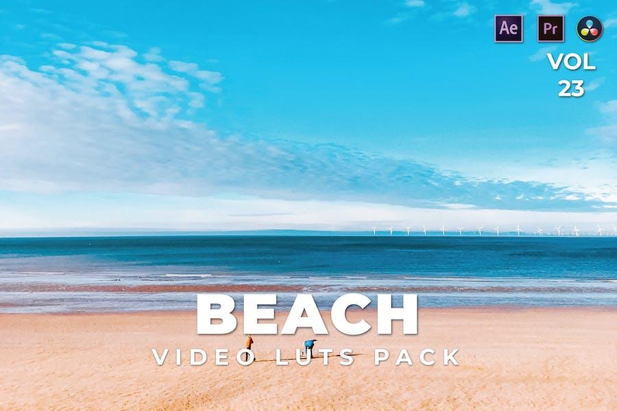 Beach Pack Video LUTs Vol.23