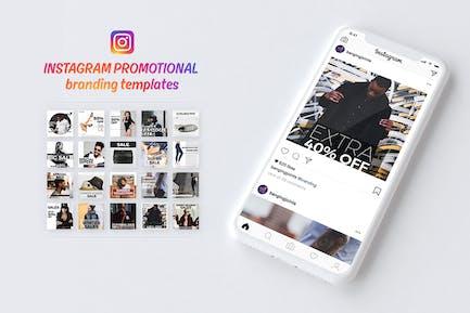 Instagram Branding Vorlage