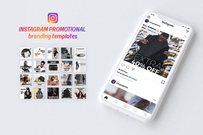 Thumbnail for Instagram Branding Template