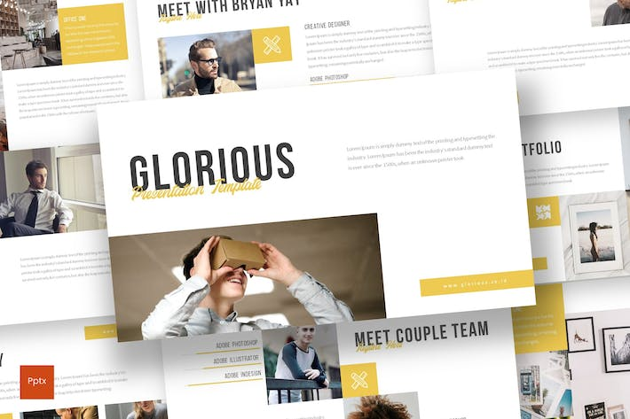 Thumbnail for Glorious - Powerpoint Template