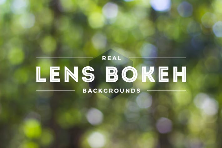 Thumbnail for Real Lens Bokeh Blur From DSLR