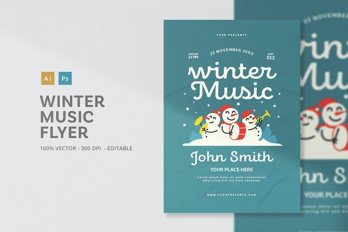 Thumbnail for Music Winter Flyer