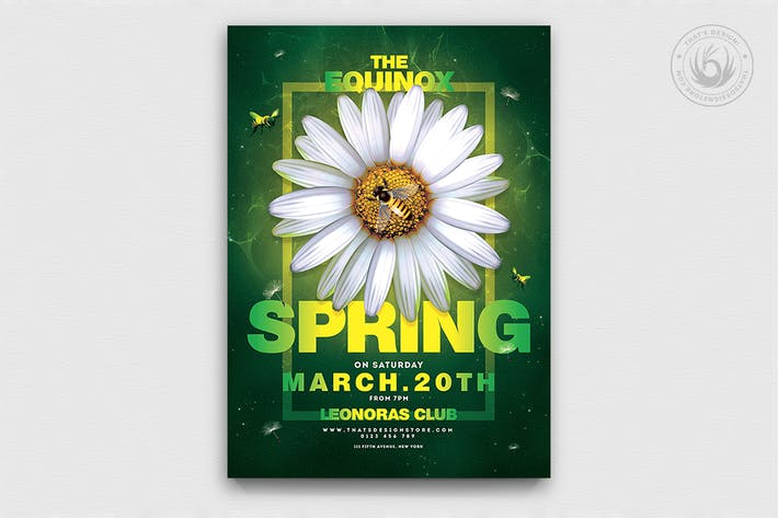 Thumbnail for Spring Day Flyer Template V3