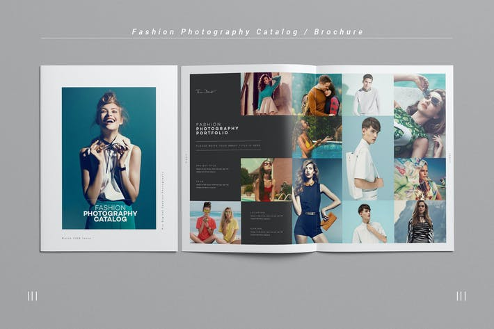 Thumbnail for Fashion Photography Catalog / Brochure