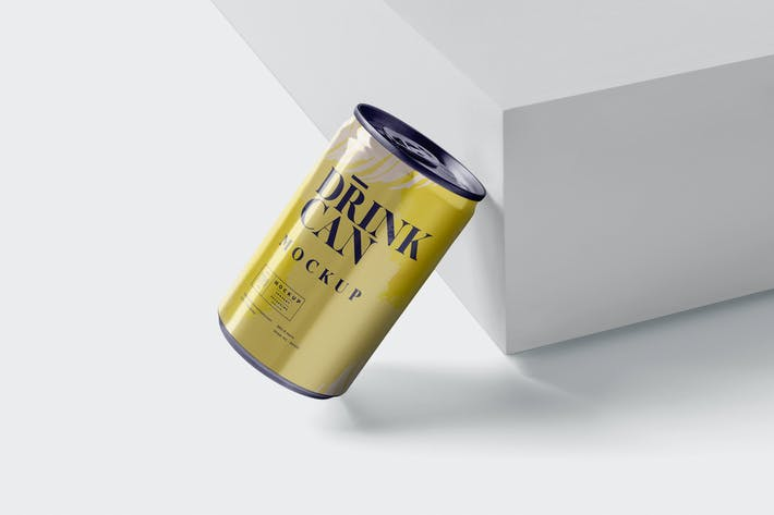 Thumbnail for Small Drink Can Mock-Up