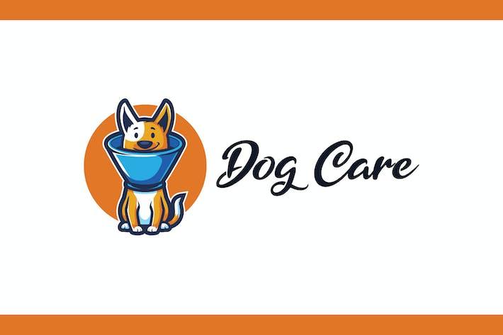 Thumbnail for Cartoon Dog With Buster Collar Mascot Logo