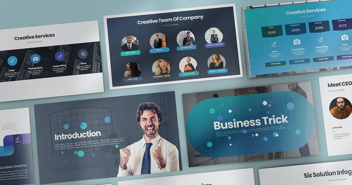 Download Business Trick Keynote by StockShape