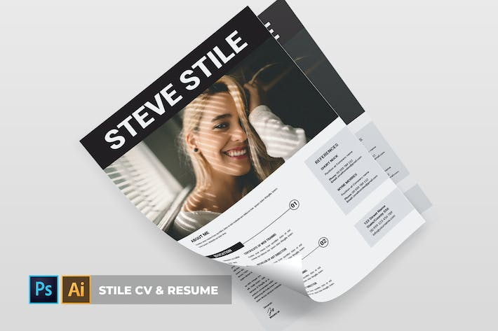 Cover Image For Stile | CV & Resume