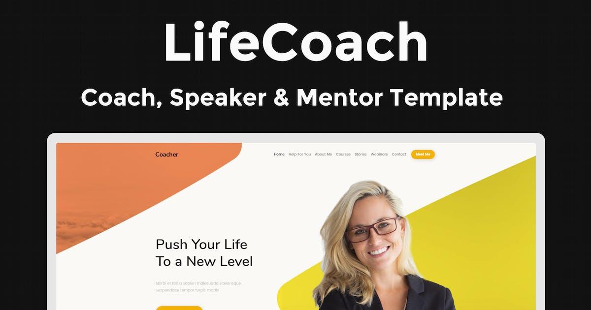 LifeCoach - Coach, Speaker & Mentor Template by ThemeStarz