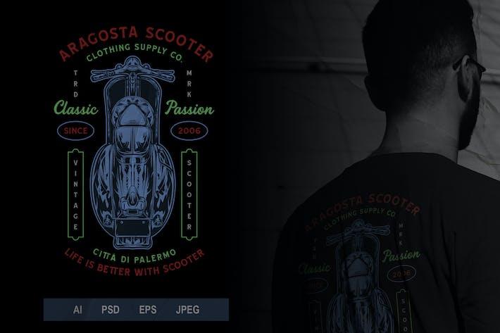 Thumbnail for Vintage Scooter Badge Logo Volume 2 No. 2