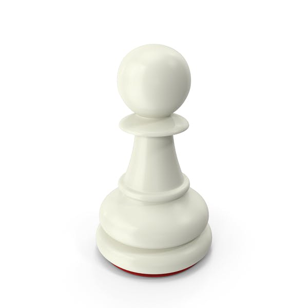 Pawn White Red
