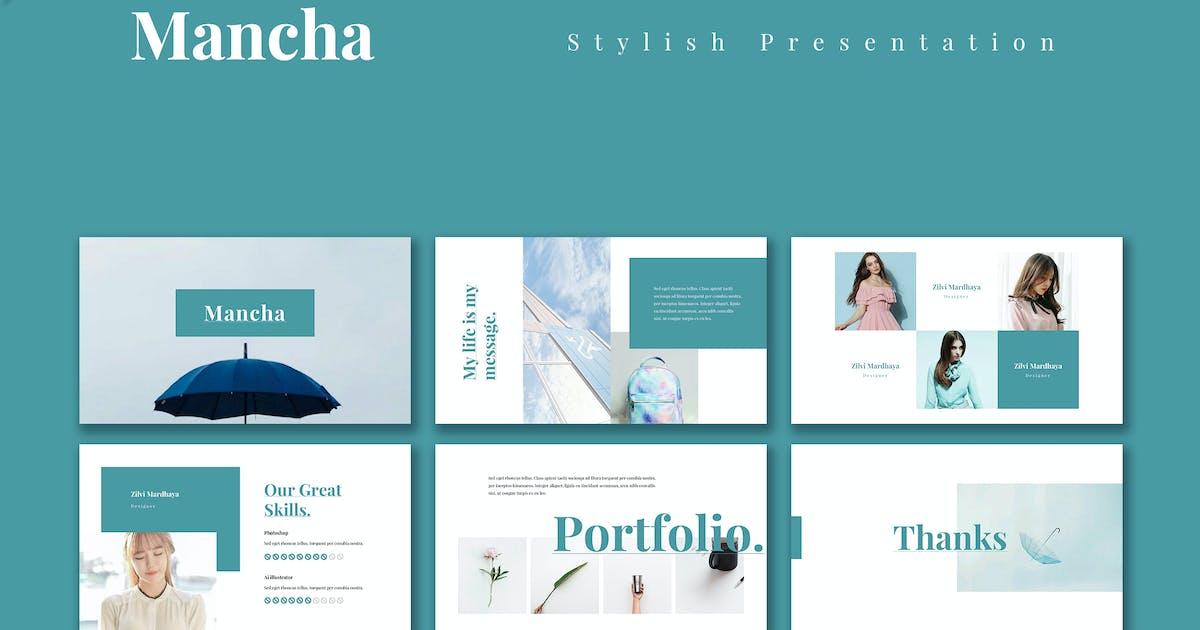 Download Mancha - Stylist Powerpoint Presentation Template by alexacrib