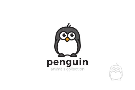 Logo Penguin Funny