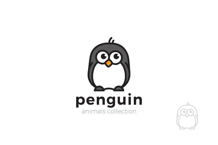 Thumbnail for Logo Penguin Funny