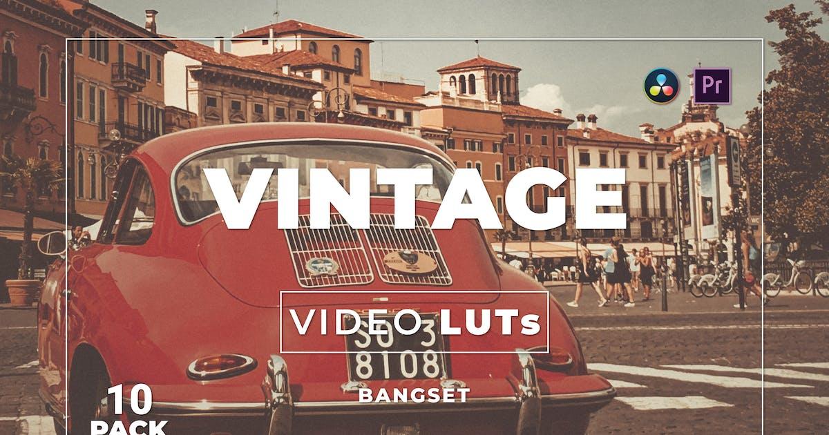 Download Bangset Vintage Pack 10 Video LUTs by Bangset