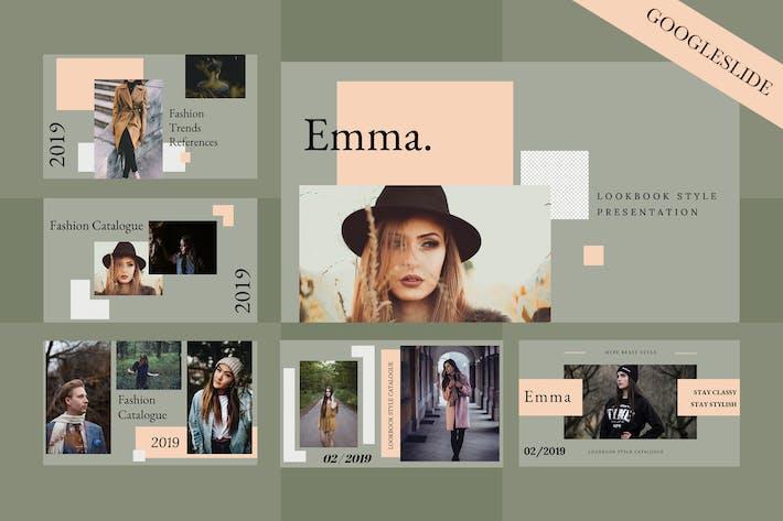 Thumbnail for Emma Google Slides Presentation