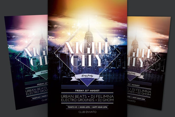 Cover Image For Night City Flyer