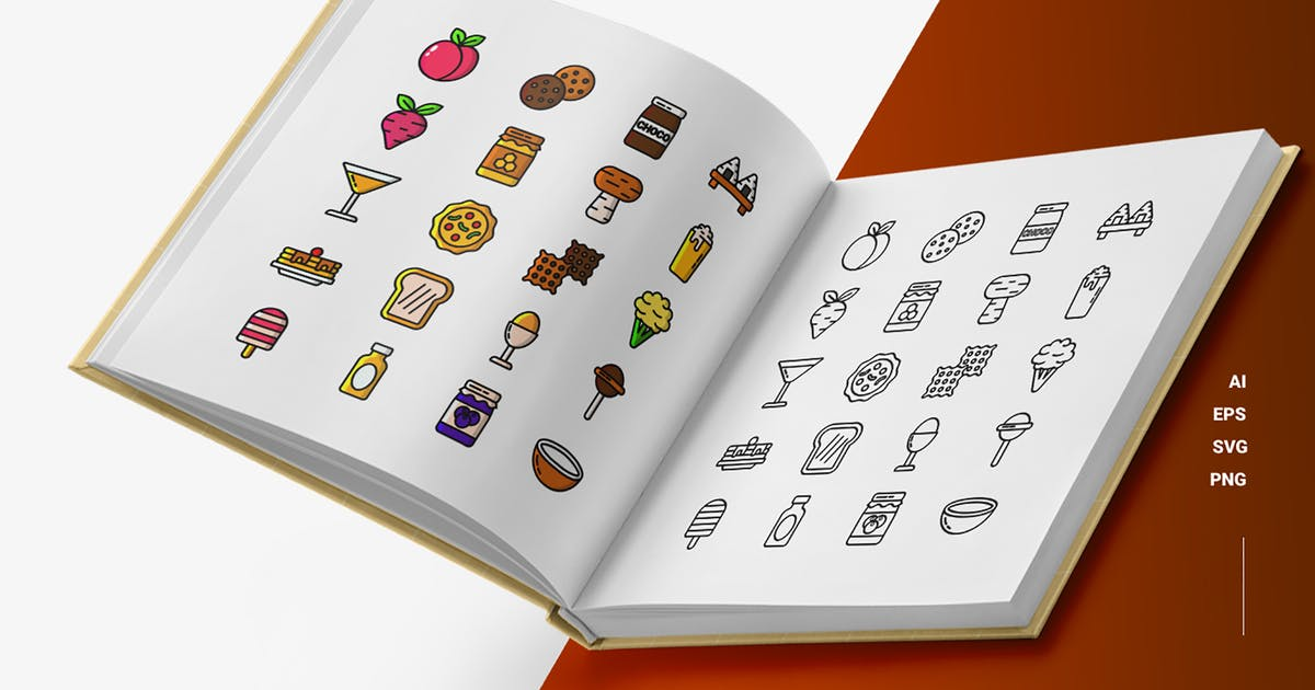 Download Gastronomy- Icons by esensifiksi