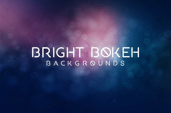 Bright Bokeh Effect Background