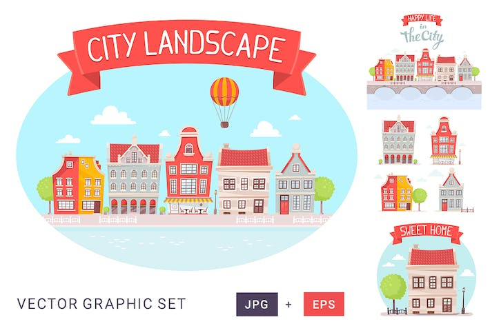 Cover Image For City landscape