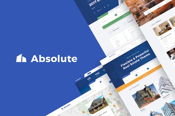Thumbnail for Absolute - Real Estate PSD Template