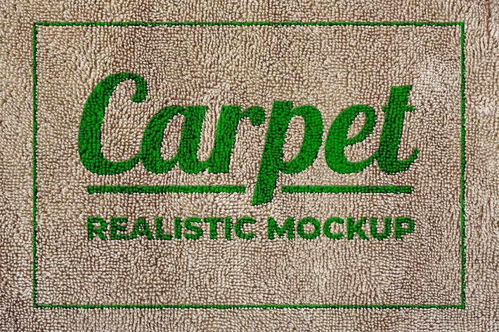 Thumbnail for Carpet Realistic Mockup