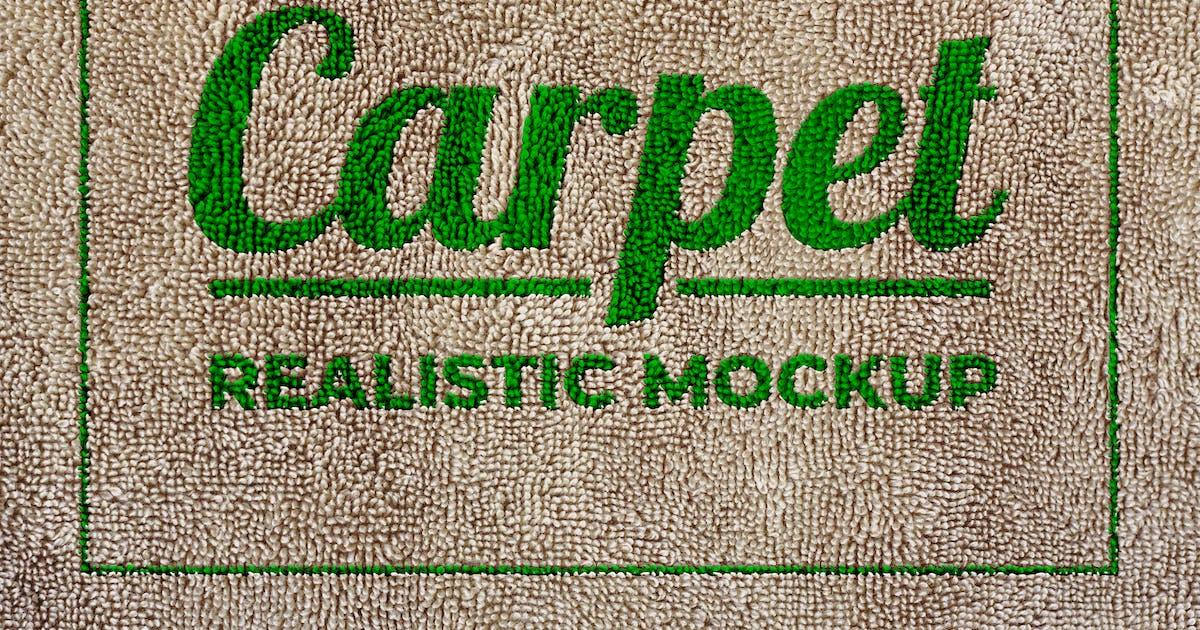 Download Carpet Realistic Mockup by sagesmask